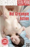 Hot Creampie Action