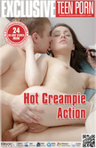 Hot Creampie Action Video