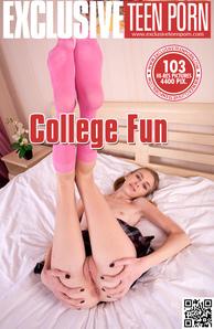 ExclusiveTeenPorn - Ivanka - College Fun