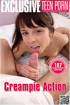 Exclusive Teen Porn - Alina - Creampie Action