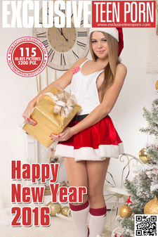 Exclusive Teen Porn - Eveline - Happy New Year 2016